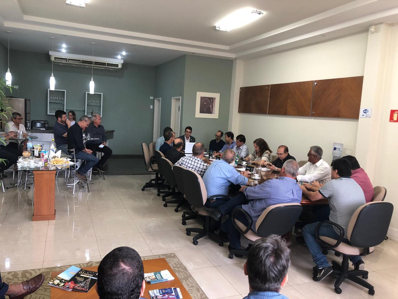 Foto - CDL Barra Mansa sedia primeira reunião de diretoria de 2020 promovida pela Federação Rio de Janeiro