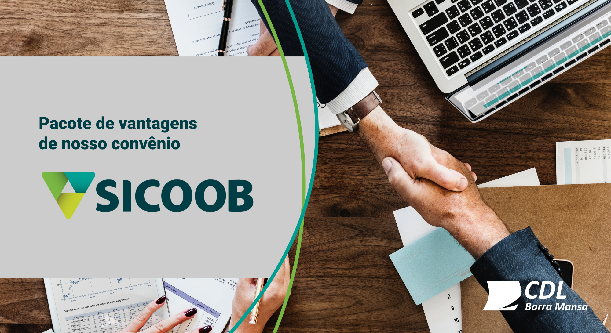 Foto - Conheça os novos benefícios ao Associado CDL no Sicoob!