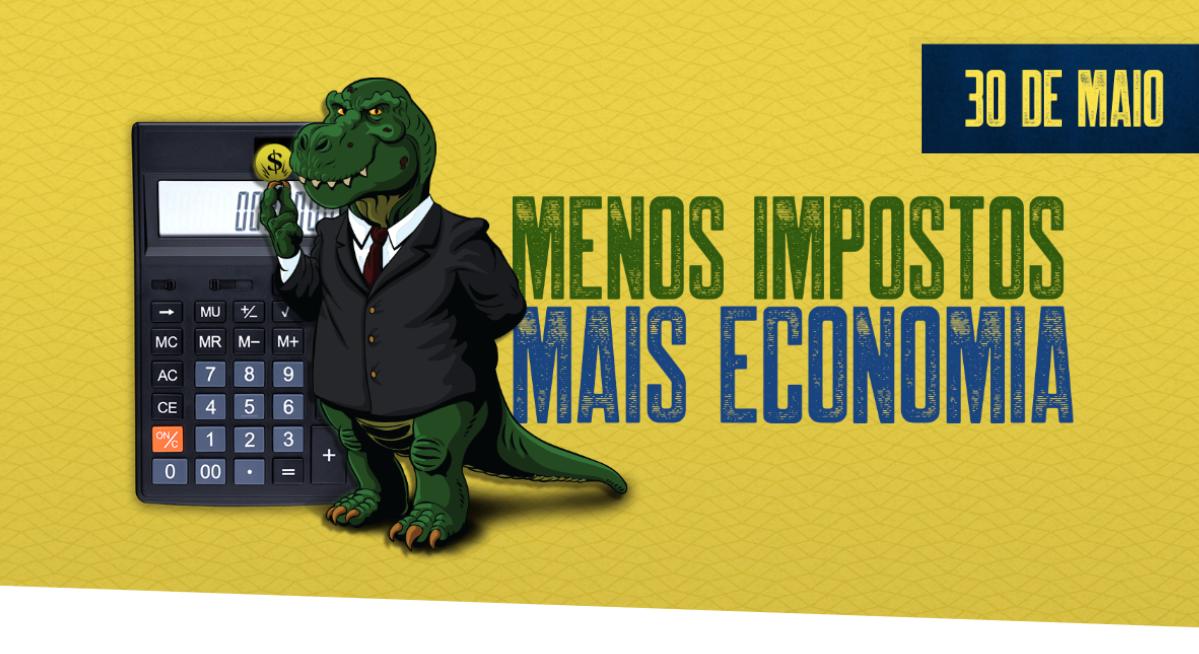 Foto - Cadastre sua empresa e participe do maior protesto contra impostos abusivos no Brasil!