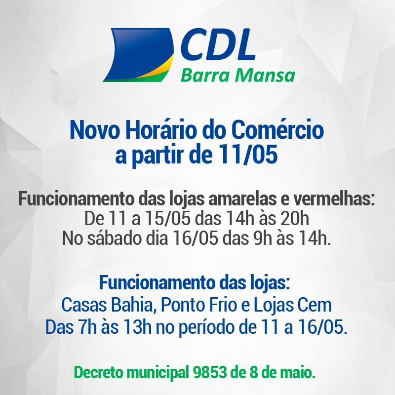 Foto - Novo Decreto do prefeito Rodrigo Drable sobre funcionamento do comércio