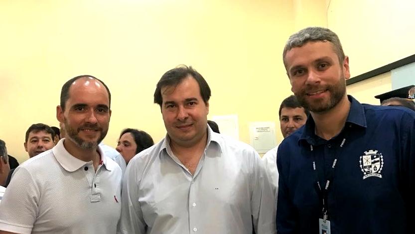 Foto - Intervenção Federal no RJ: Rodrigo Maia participou de reunião hoje em BM.