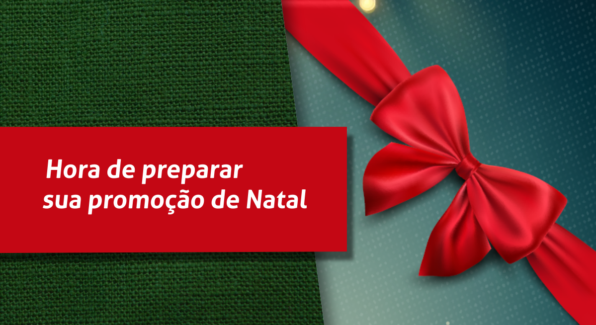 Foto - Reta final do ano para as vendas de Natal.