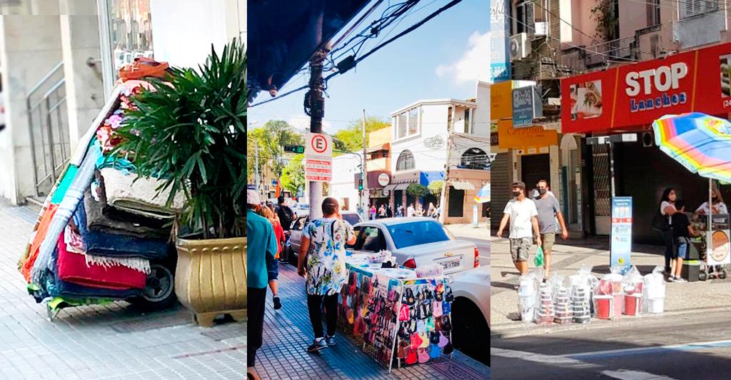 Foto - Entidades se preocupam com o comércio ambulante não regularizado durante a pandemia