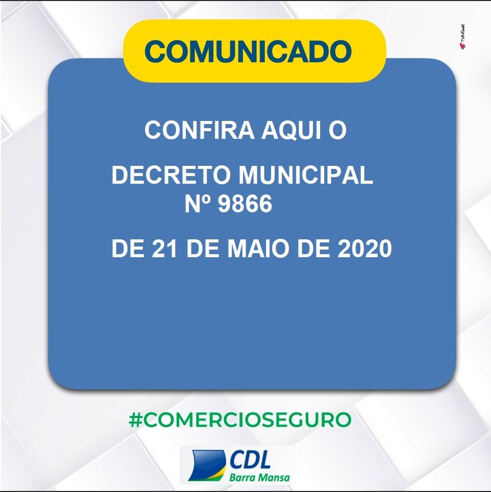 Foto - Novo Decreto do prefeito Rodrigo Drable sobre o fechamento do comércio