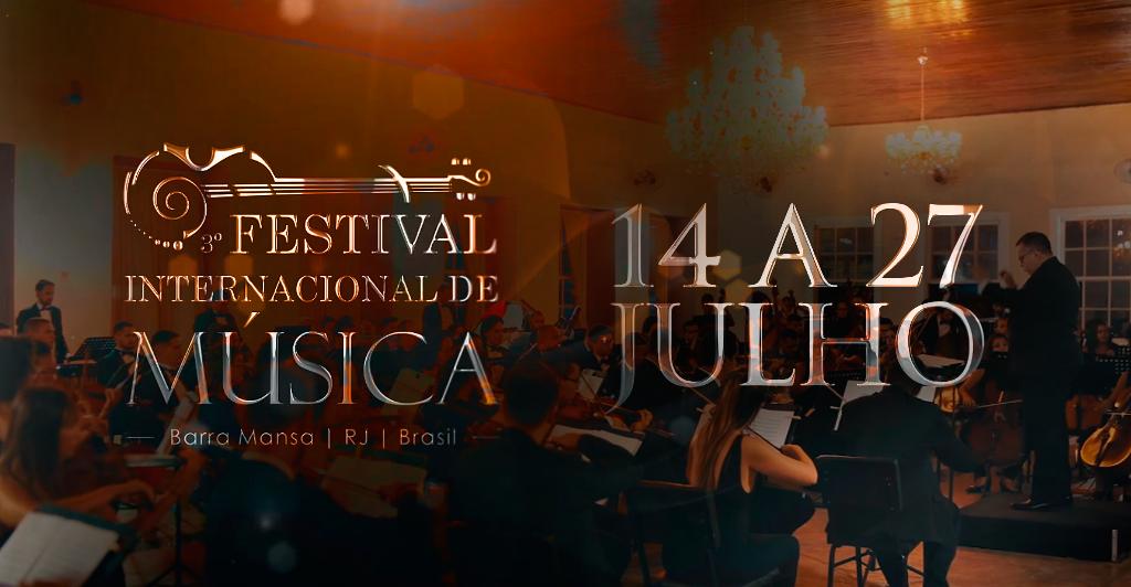 Foto - Acompanhe por aqui a Programação do Festival Internacional de Música de Barra Mansa