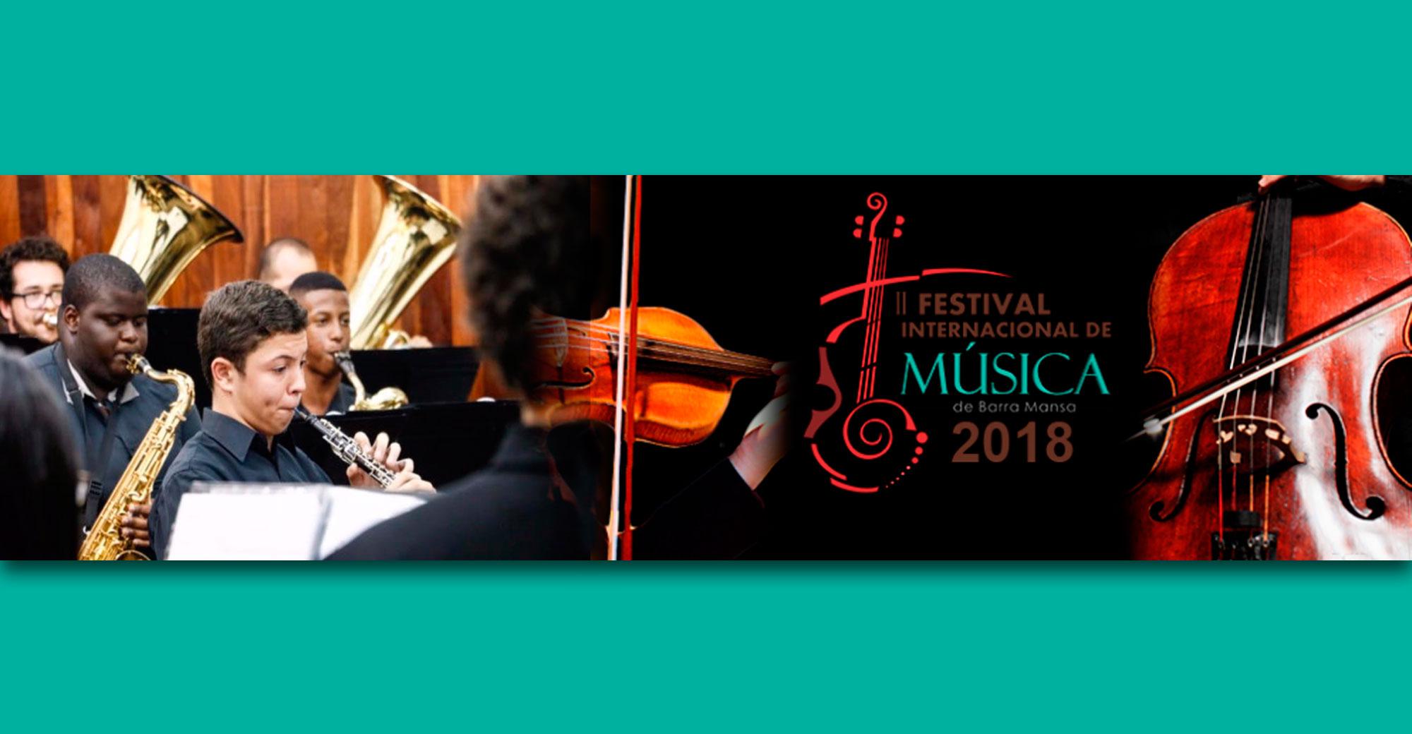 Foto - II  Festival Internacional de Música nas ruas de Barra Mansa