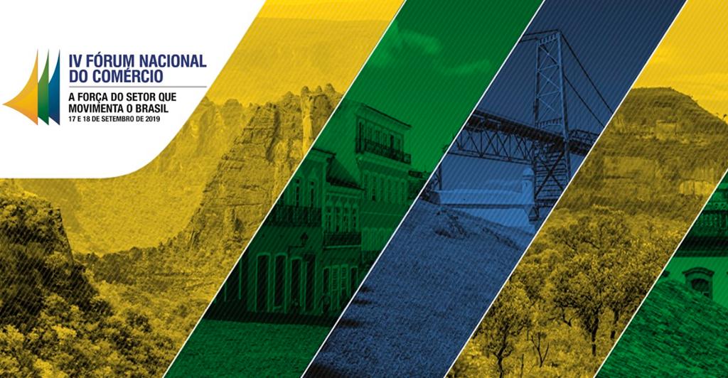 Foto - IV Fórum Nacional do Comércio acontece em Brasília