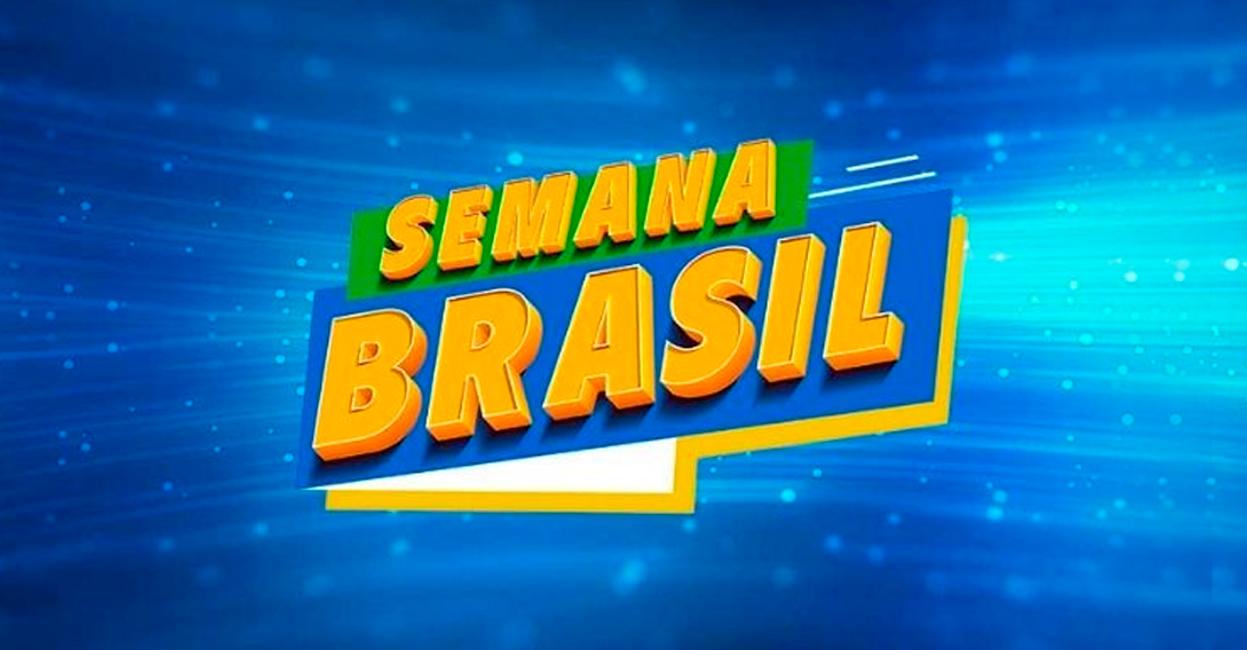 Foto - Semana Brasil acontece de 3 a 13 de setembro em todo o país